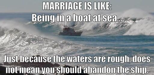 Marriage - Abandon Ship