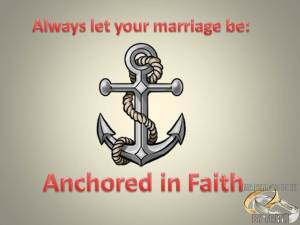 Anchored Marriage