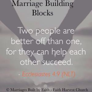 Marriage - Two Are Better than One