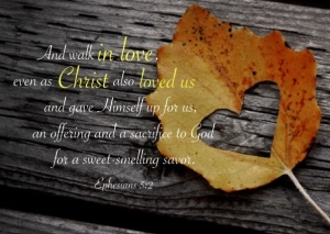 Love - Eph 5.2